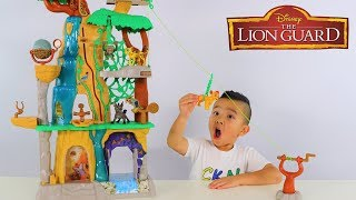 Disney Lion Guard Training Lair Playset Unboxing Fun With Ckn Toys