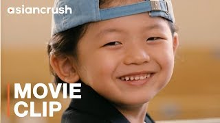 How to use your grandkid to win over your crush   Clip from ...