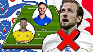 ENGLAND'S EURO 2020 SQUAD WITHOUT BANNED SUPER LEAGUE PLAYERS