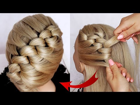 😱-new-hairstyle-for-wedding-and-party-||-trending-hairstyle-||-party-hairstyle-||-updo-hairstyle