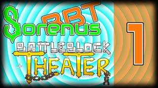 BATTLE BLOCK THEATER! | W/ Sorenus & BytesBite 01 | Terrible Teamwork