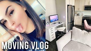 moving vlog: new apartment *furniture, decor, etc.*