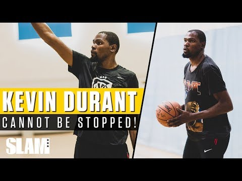 Kevin Durant CANNOT BE STOPPED! Private NBA Run with Rico Hines!