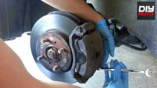 HOW TO CHANGE / REPLACE BRAKES || HONDA CIVIC & ACURA EL