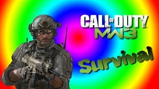 MW3 SURVIVAL RESISTANCE coop with AASTARS (SPEED RUN) P2