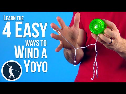 How to Wind A Yoyo - 4 Easy Beginner Yoyo Tricks