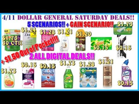 💰{$1.50 Out Of Pocket!!} Dollar General Deals 4/11 +Dollar General Saturday Scenarios 4/11 + DG 4/11
