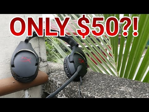 Best Gaming Headphones For US$50 / PHP 2,400! (HyperX Cloud Stinger Review)