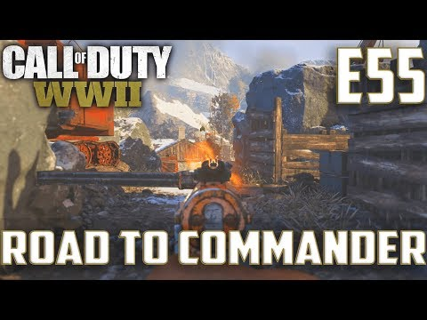 Call Of Duty World War 2(RTC)PS4 Ep.55-FFA On Gustav,TDM On Ardennes Forest(Type 100,Bar Gameplay)