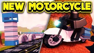 NEW POLICE MOTORCYCLE & AIRPORT NEXT UPDATE! (ROBLOX Jailbreak)
