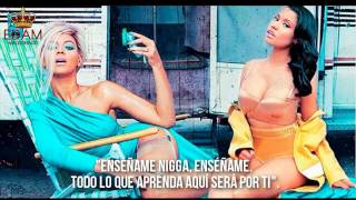 Nicki Minaj ft. Beyonce - Feeling Myself (Subtitulado/Traducido al Español)♥
