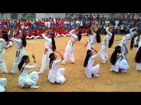 chak de  India girls school  samdari