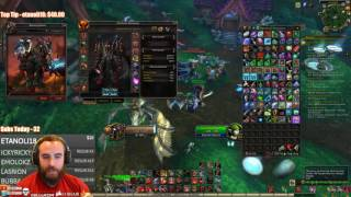 Bajheera - THIRD LEGENDARY DROP!!! (Horde Warrior) - WoW 7.1.5 Warrior Gear