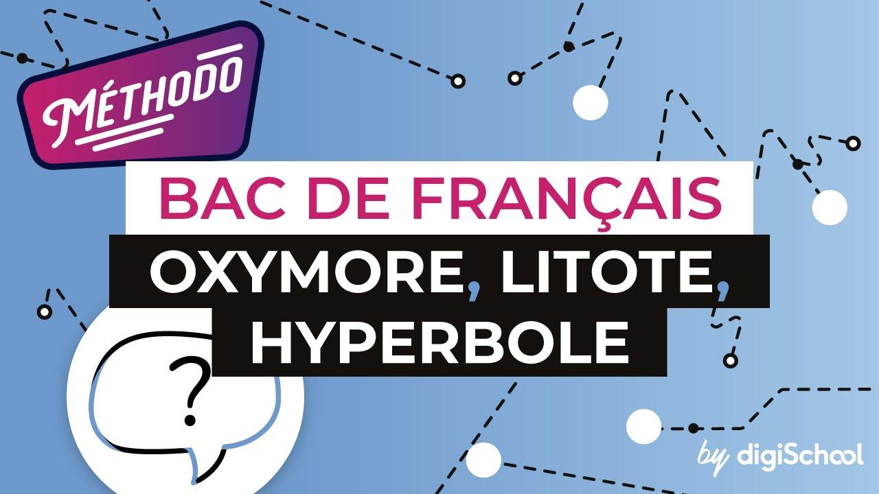 Français Lycée - Les figures de style : oxymore, litote, hyperbole ...