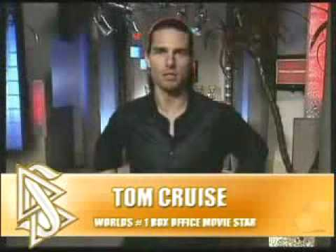 Secret Tom Cruise Scientology Promotion Video Leaked