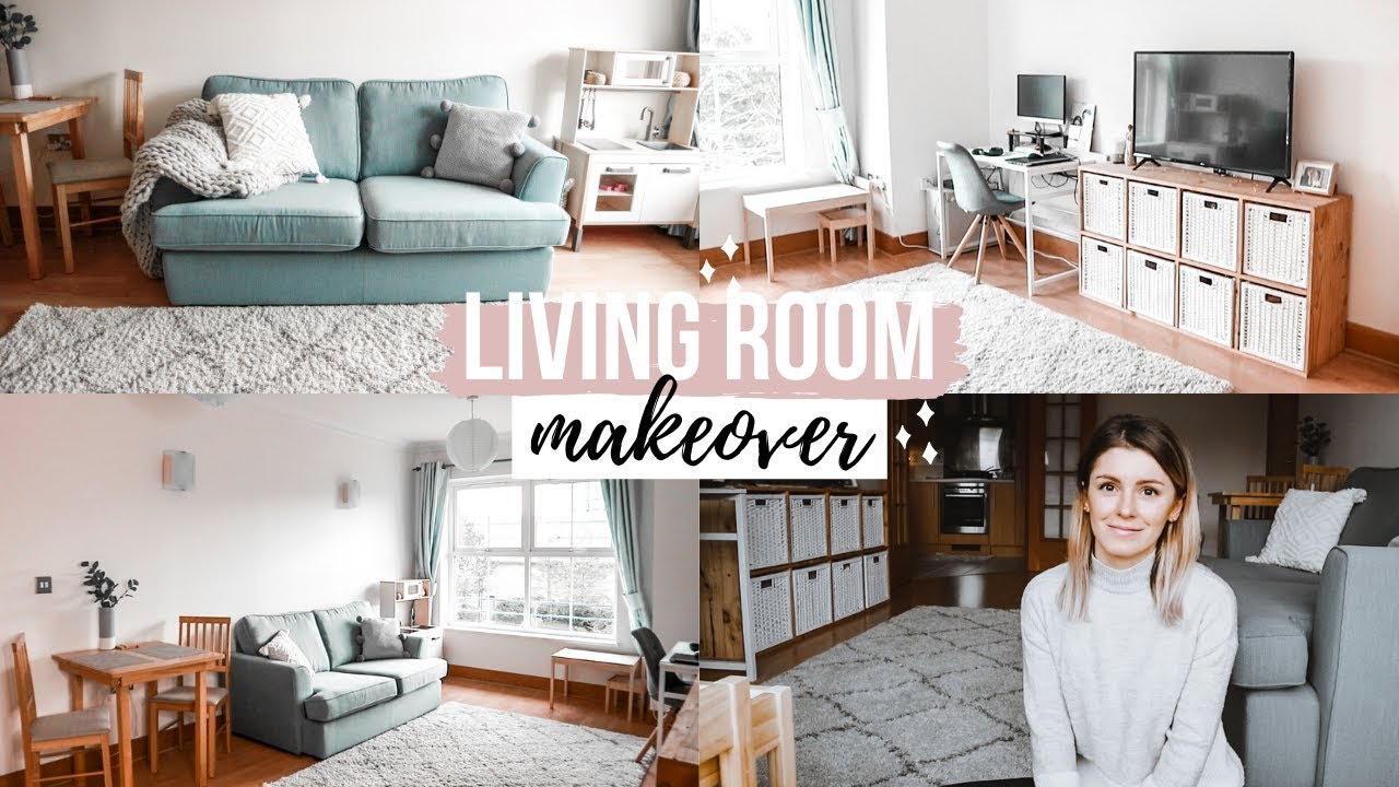 living room makeover  lounge rental home makeover ideas