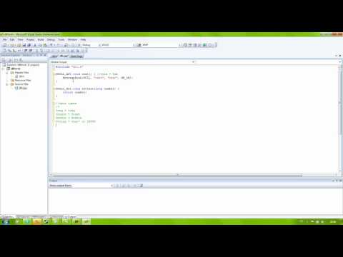 visual studio how to use a dll