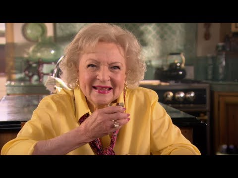Betty White Takes a Shot  Betty's Happy Hour