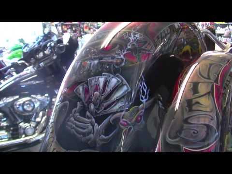 killer fender paint job - road rage performance - custom choppers