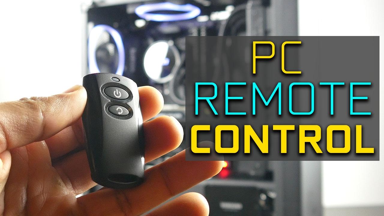 Universal PC Remote Control - Silverstone ES02-USB - YouTube