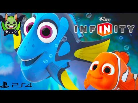 FINDING DORY NEMO Tekenfilm Nederlands Gesproken Kinderspelletjes Videospel Kids - Disney Infinity