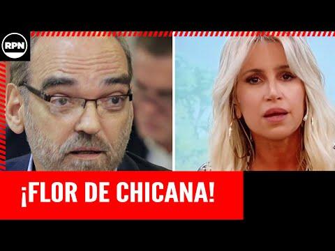 Flor Peña Le pego a Iglesias
