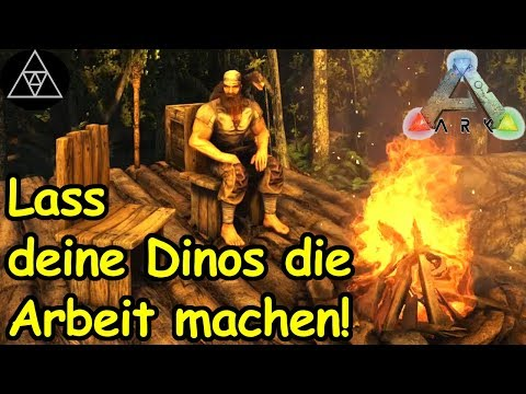 ARK: Survival Evolved Auto Farming Special ► Automatische Ressourcen Farm! [Guide/Tutorial, deutsch]