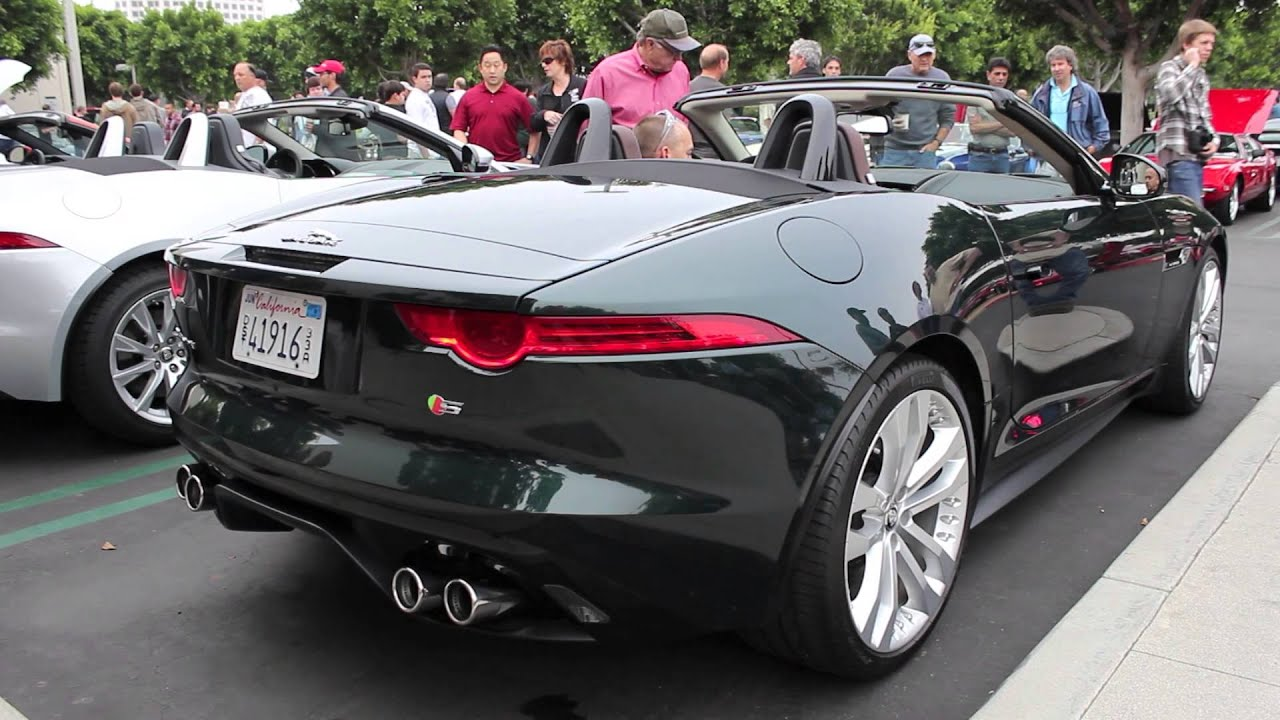 new 2014 jaguar f type with v8 engine start up youtube. Black Bedroom Furniture Sets. Home Design Ideas