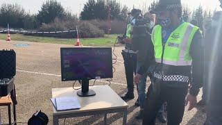 Presentación de los drones que utilizará para vigilancia y control la Policía Municipal.