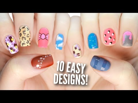 Nail Art: 10 Easy Nail Art Designs For Beginners