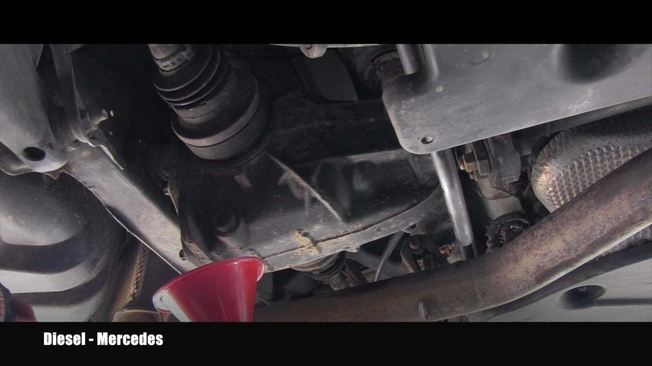 Rear Differential Fluid Change >> Mercedes Rear Differential Fluid Change - YouTube