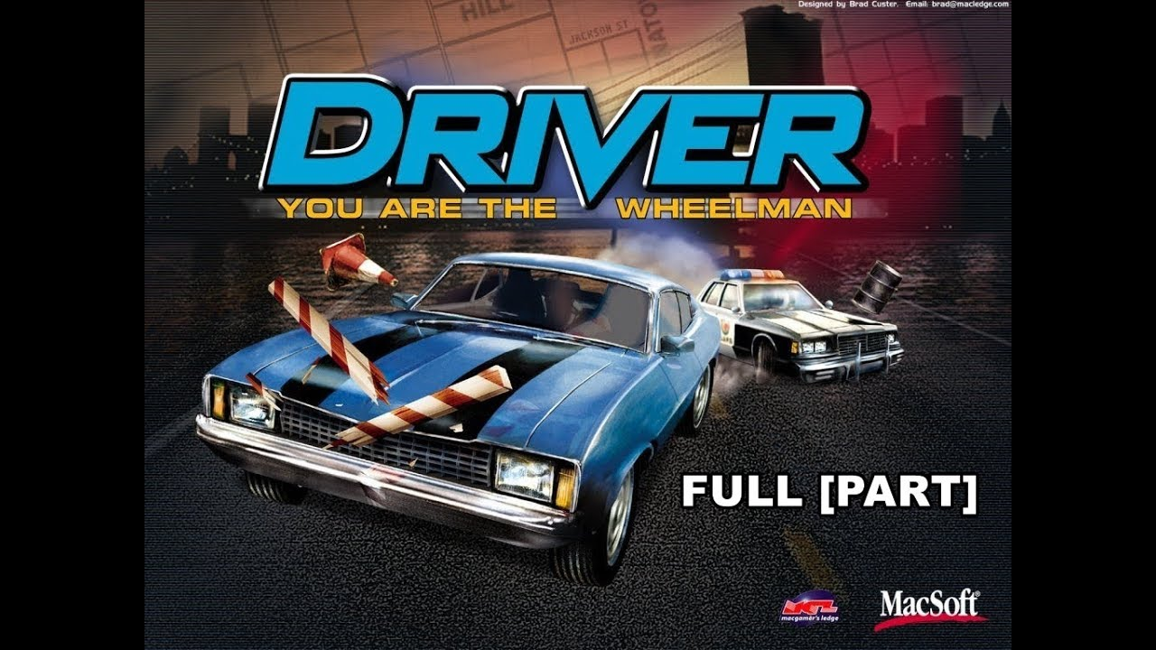 Driver You Are the Wheelman (PS1) Walkthrough Part [FULL] HD