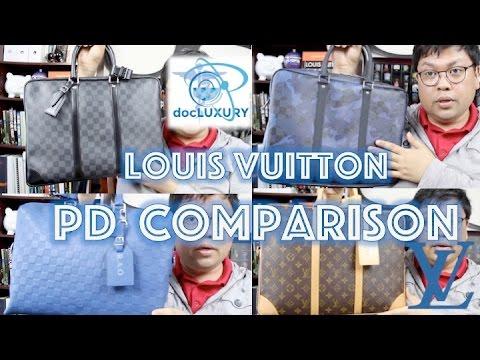 LV Porte Documents Voyage / Jour comparison