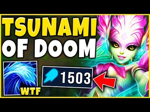 *UNBELIEVABLE* THIS IS ACTUALLY BEYOND BROKEN 1500+ AP NAMI - League of Legends