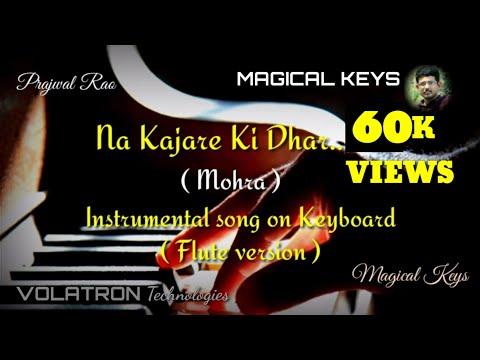 Na Kajare Ki DharInstrumental Song | Mohra | Keyboard | Flute Version