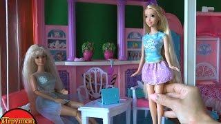 Куклы для девочек сериал, Рапунцель и Челси временно живут вместе, играем в переодевалки серия 361