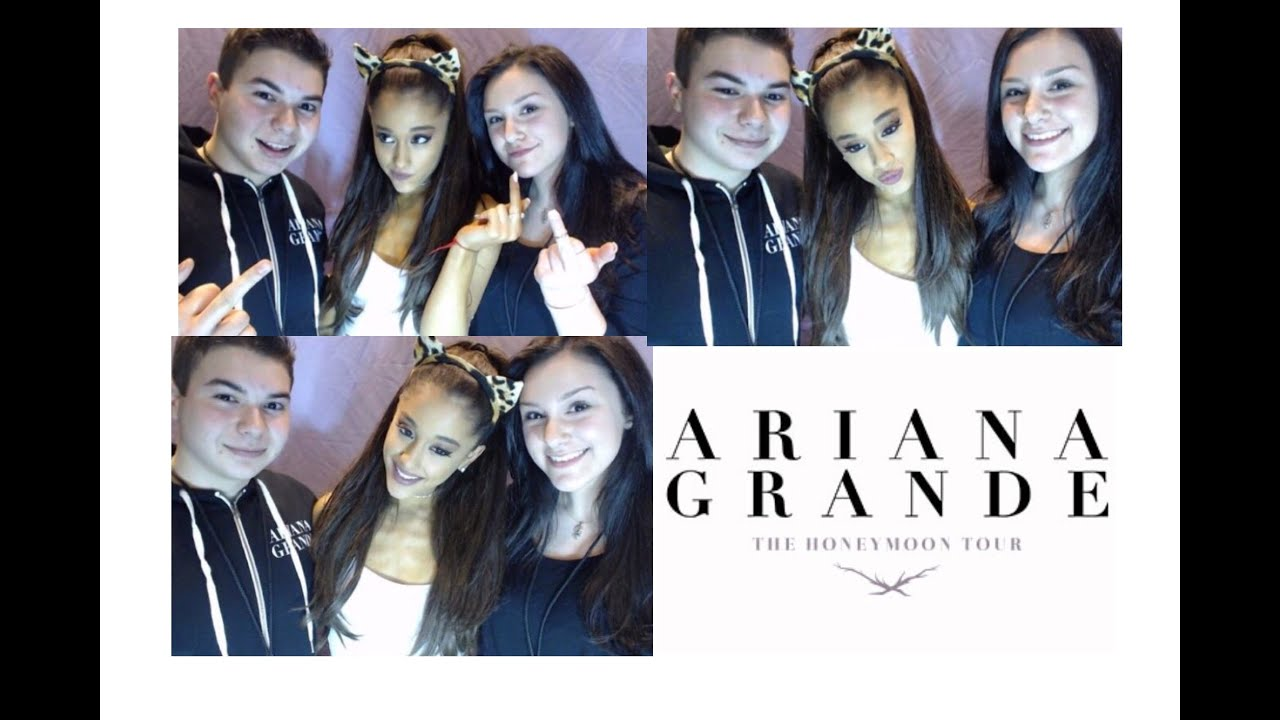 Meeting Ariana Grande Youtube