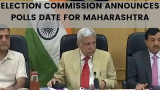 Election commission announces polls date for Maharashtra, Haryana assembly election 2019 |NewsX