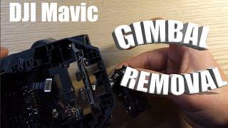DJI Mavic Gimbal Removal