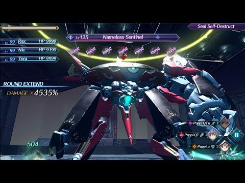 Xenoblade Chronicles 2 Playthrough Part 68 (EXTRA #11 - The Nameless Sentinel)