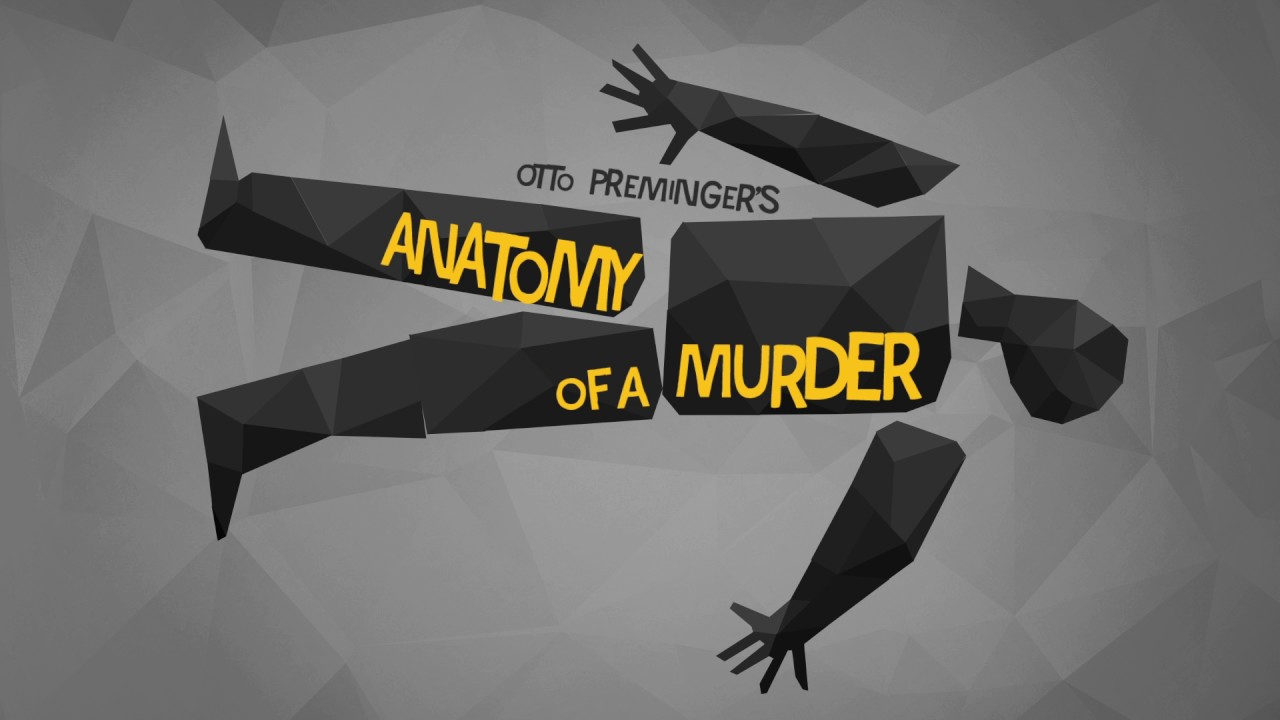 Anatomy Of A Murder Saul Bass Film Title Sequence Youtube