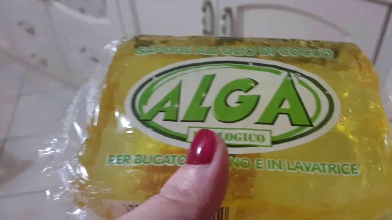 Puliamo il filtro della cappa della cucina col sapone molle Alga ...