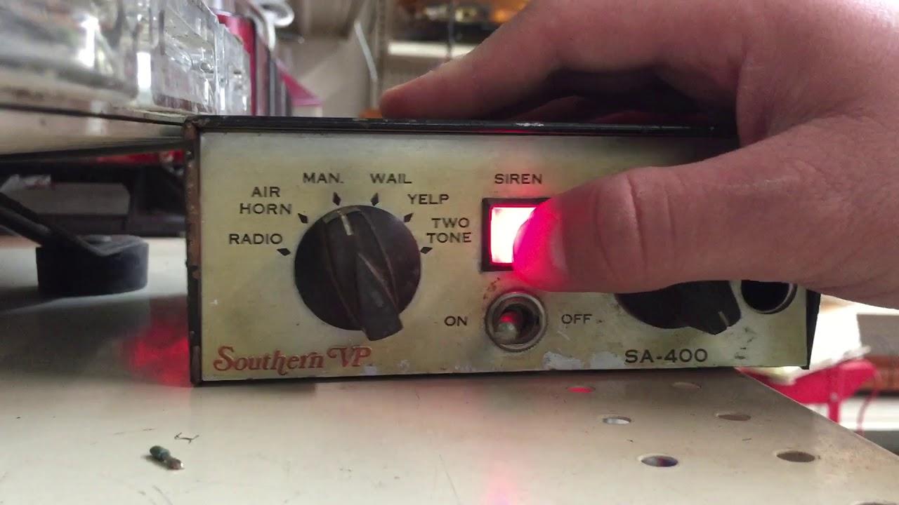 medium resolution of southern vp sa 400 siren