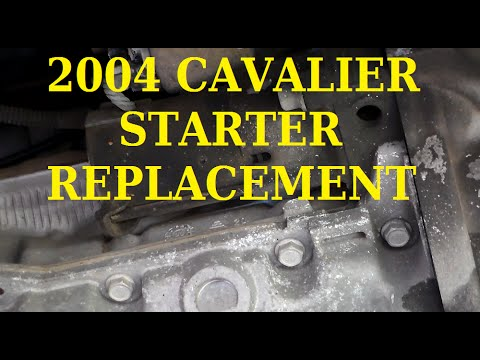 Starter Replacement 04 Cavalier - YouTube