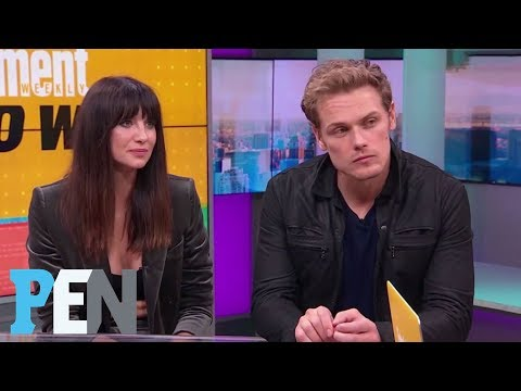 Outlander: Caitriona Balfe & Sam Heughan On Season 3 Sex Scenes & More | PEN | Entertainment Weekly