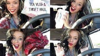 TEA VLOG & SPRING THRIFT HAUL