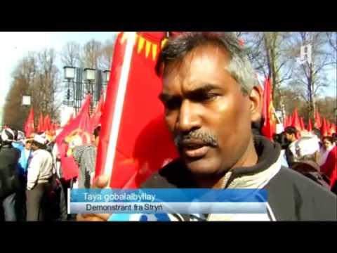 3000 i tamil demonstrasjon Nyheter Innenriks Aftenposten