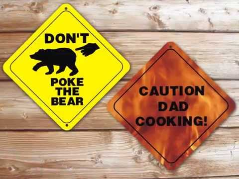 Personalized Caution Signs