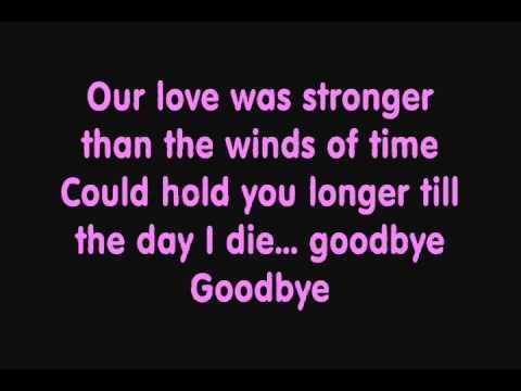 Kate Ryan - Goodbye (Lyrics)