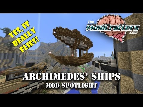 Archimedes Ships - Mod Spotlight - Yes, It Really Flies!